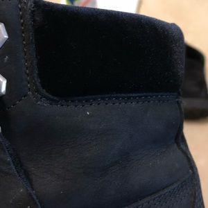 Timberland Shoes - Black Velvet Timberlands